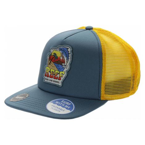 czapka z daszkiem Reef Deep Sea Fish Trucker - Blue