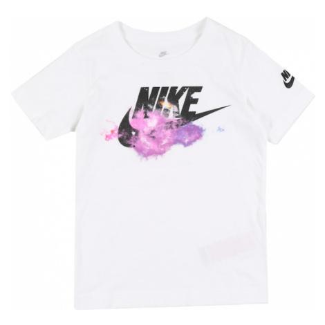 Nike Sportswear Koszulka 'FUTURA GALAXY S/S TEE' biały