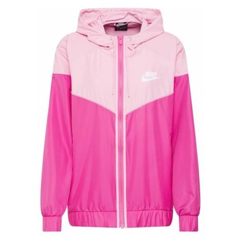 Nike Sportswear Kurtka przejściowa różowy / różowy pudrowy