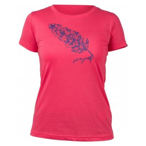 Northfinder MADILYN różowy S - Koszulka damska