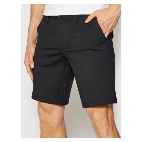 ONLY & SONS Szorty materiałowe Mark 22019628 Czarny Slim Fit