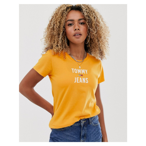 Tommy Jeans square logo t-shirt Tommy Hilfiger