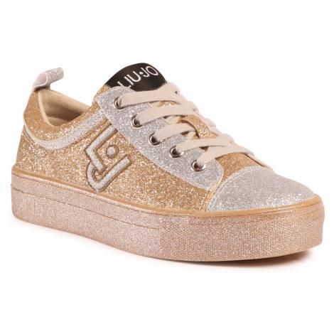Sneakersy LIU JO - Alicia 147 4F0709 TX007 Gold 00529