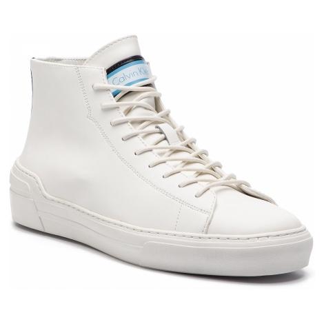 Sneakersy CALVIN KLEIN - Okey F0996 White/Navy/Dusty Blue