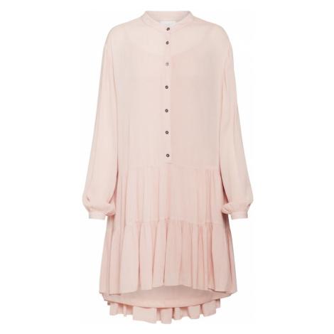 VILA Sukienka koszulowa różowy pudrowy