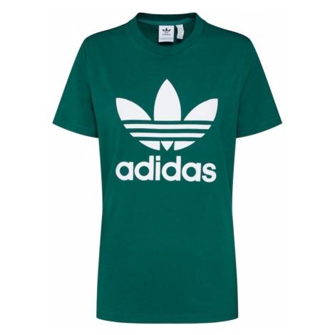 ADIDAS ORIGINALS Koszulka 'Trefoil' zielony / biały