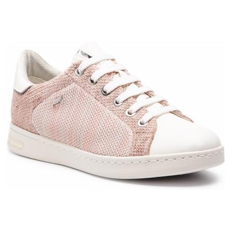 Sneakersy GEOX - D Jsysen A D821BA 06KBC C7337 Salmon/White