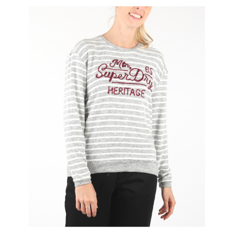 SuperDry Sweter Szary