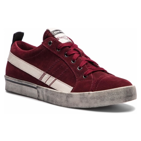 Sneakersy DIESEL - D-Velows Low Lace Y01755-P1834-T5283 Cabernet