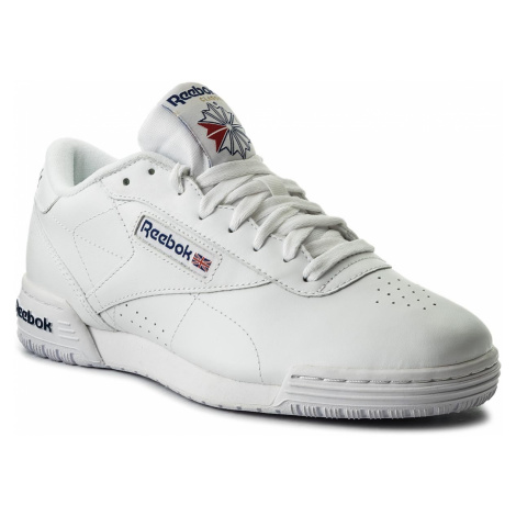 Buty Reebok - Exofit Lo Clean Logo Int AR3169 Int White/Royal Blue