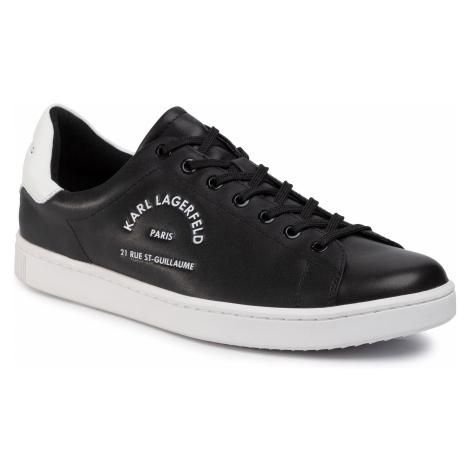 Sneakersy KARL LAGERFELD - KL51241 Black Lthr