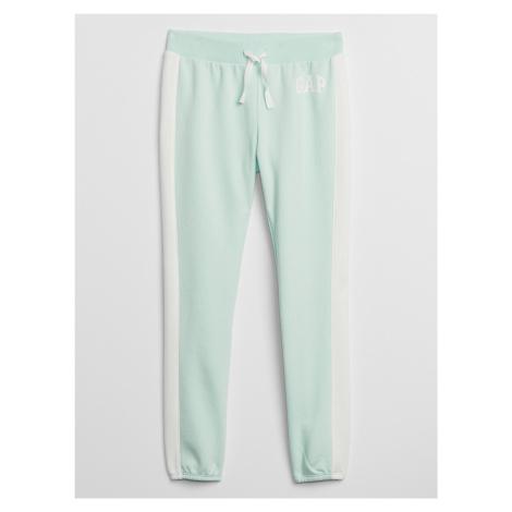 GAP turkusowe dziewczęce spodnie dresowe