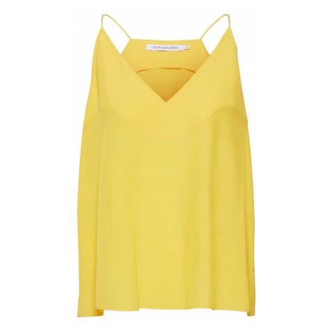 Calvin Klein Jeans Top żółty