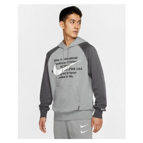 Nike Sportswear Swoosh Bluza Szary