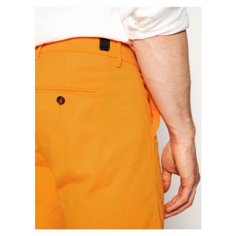 Pierre Cardin Szorty materiałowe 3465/2040 Pomarańczowy Tailored Fit