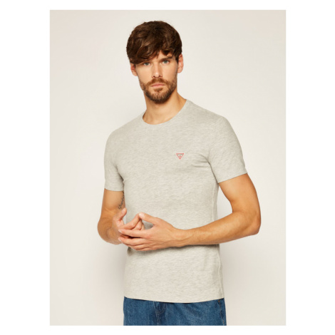 Guess T-Shirt Core M0YI24 J1300 Szary Super Slim Fit