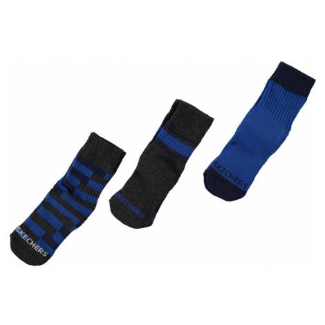 Skechers 3 Pack Crew Socks Junior Boys