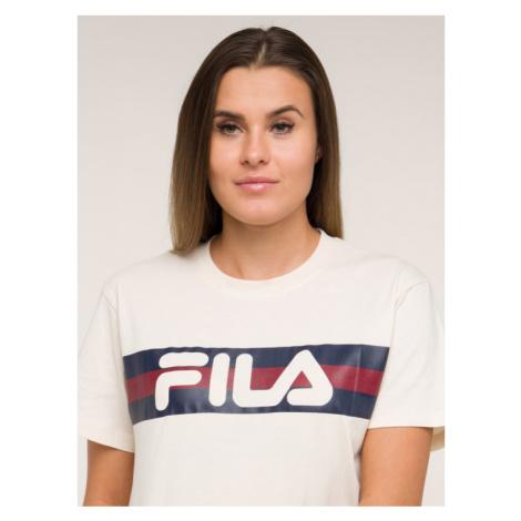 Fila T-Shirt Azrielle Graphic 687222 Beżowy Regular Fit