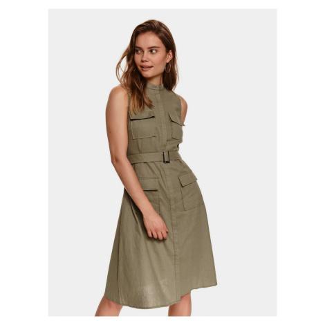 TOP SECRET khaki sukienka
