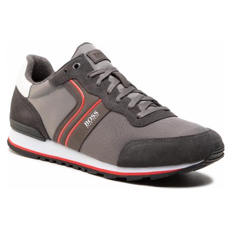 Sneakersy BOSS - Parkour 50433661 10214574 01 Dark Grey 026 Hugo Boss