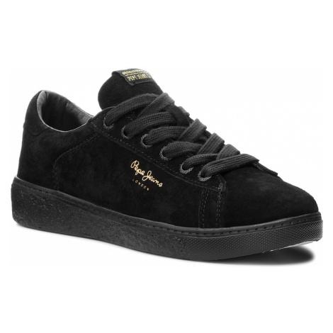 Sneakersy PEPE JEANS - Roxy Bass PLS30779 Black 999
