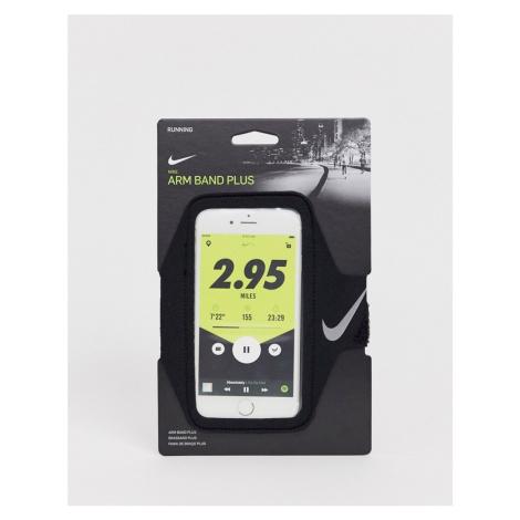 Nike Running Plus phone armband in black
