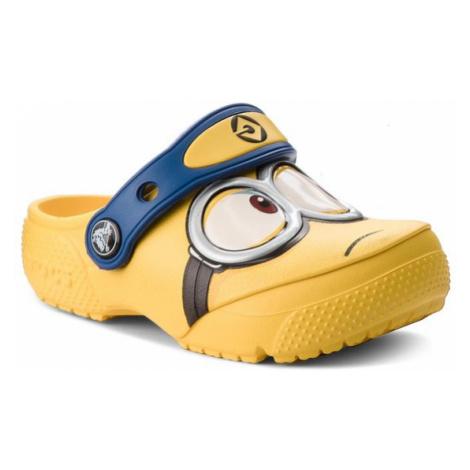 Crocs Klapki Crocsfunlab Minions Clog 204113 Żółty