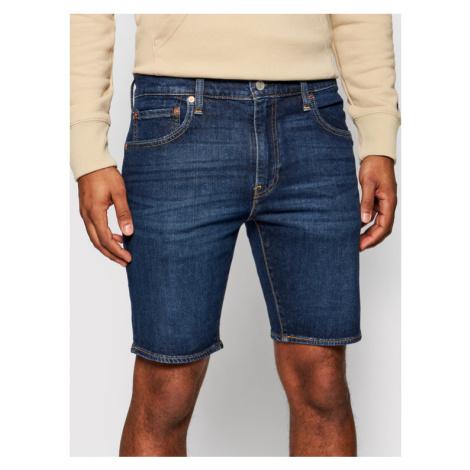 Levi's® Szorty jeansowe 412™ 39387-0021 Granatowy Slim Fit Levi´s