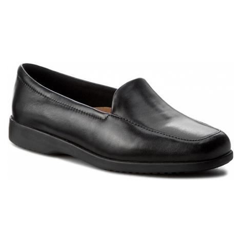 Półbuty CLARKS - Georgia 002547937 Black Leather
