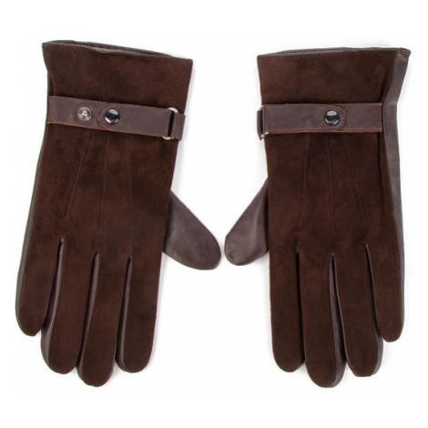 Joop! Rękawiczki Damskie Gloves 7237 170006313 Brązowy