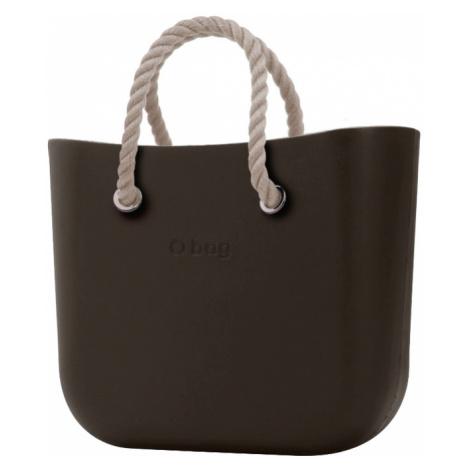 O bag torebka MINI Testa di Moro z krótkimi linami natural