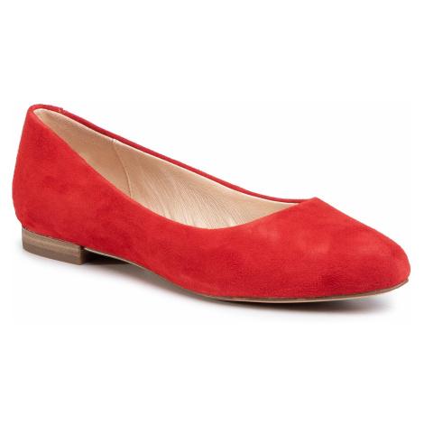 Baleriny CAPRICE - 9-22104-24 Red Sudede 524