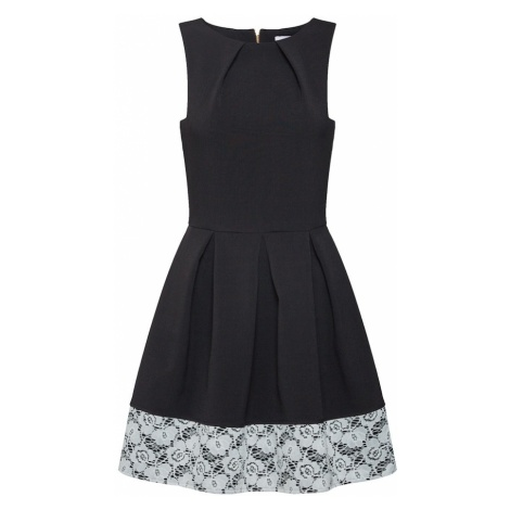 Closet London Sukienka koktajlowa 'D2747' czarny / biały