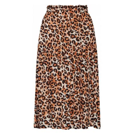 SELECTED FEMME Spódnica 'LEONI' beżowy / brązowy