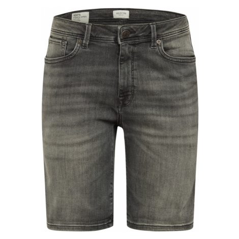 SELECTED HOMME Jeansy antracytowy