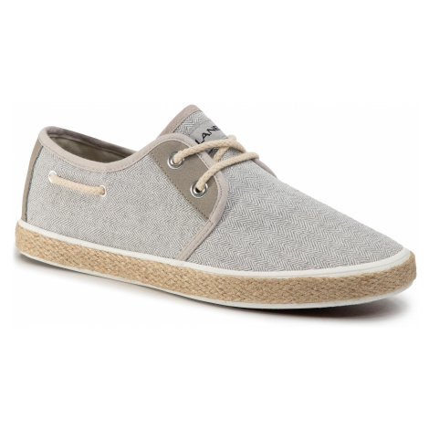 Espadryle LANETTI - MS19060 Light Grey