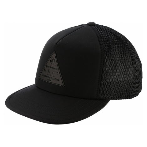 czapka z daszkiem Neff X Trucker - Black/Black