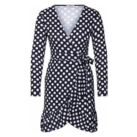 WAL G. Sukienka czarny / biały