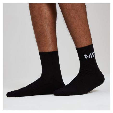 Męskie Skarpety Crew Socks - Czarne