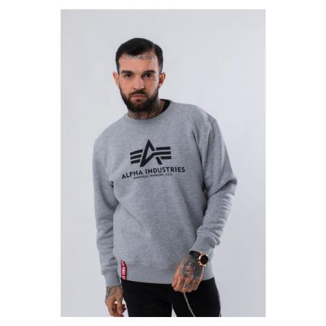 Bluza Alpha Industries Basic Sweater 17 Grey Heather