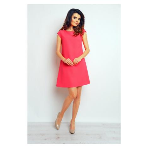 Infinite You Woman's Dress M074 Fuchsia