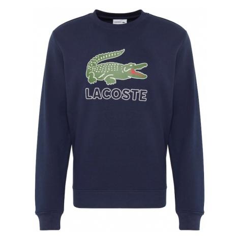 LACOSTE Bluzka sportowa niebieska noc / trawa zielona