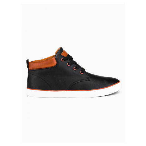 Ombre Clothing Men's high-top trainers T307