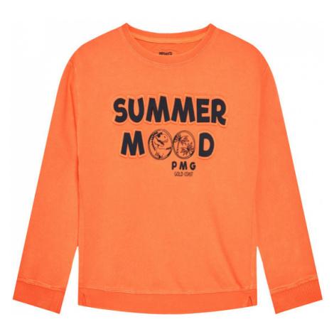 Primigi Bluza Ride The Waves 45152051 Pomarańczowy Regular Fit