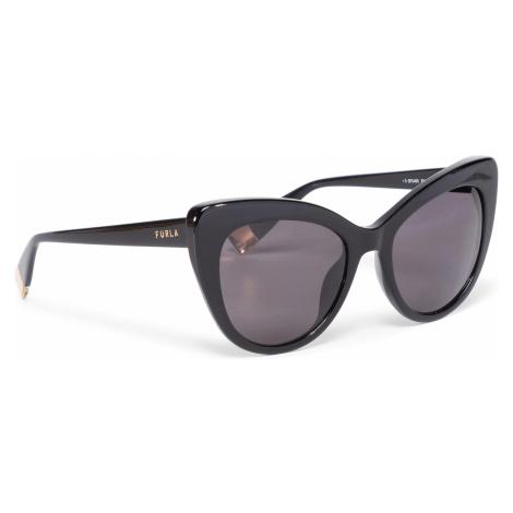 Okulary przeciwsłoneczne FURLA - Sunglasses SFU405 405FFS9-RE0000-O6000-4-401-20-CN-D Nero