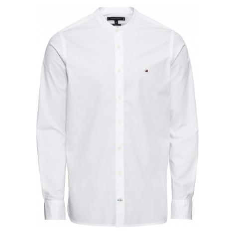 TOMMY HILFIGER Koszula 'Mandarin' biały
