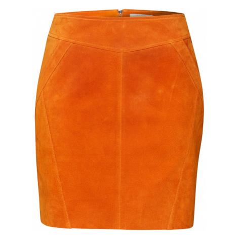 VILA Spódnica 'SUSA' pomarańczowy
