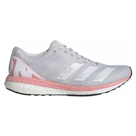 Buty adidas Adizero Boston 8 W Szaro-Białe