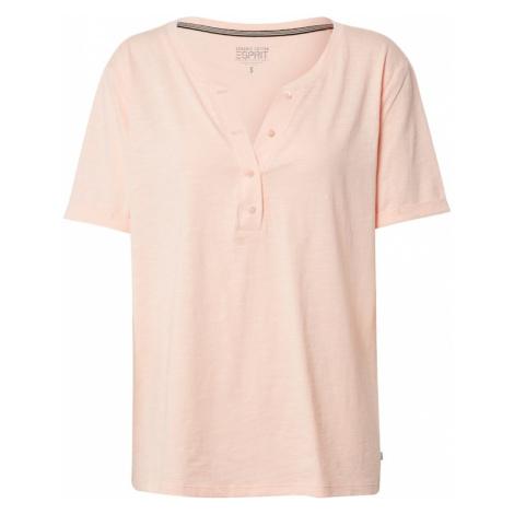 ESPRIT Koszulka brzoskwiniowy