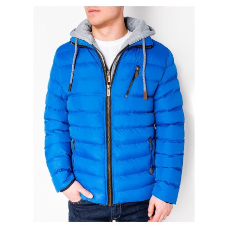 Ombre Clothing Men's mid-season quilted jacket C384